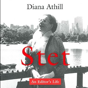 Stet, written by Diana Athill and narrated by Jan Cramer